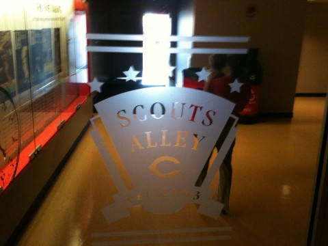 Entrance To Scouts Alley