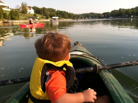 Trey Kayaking
