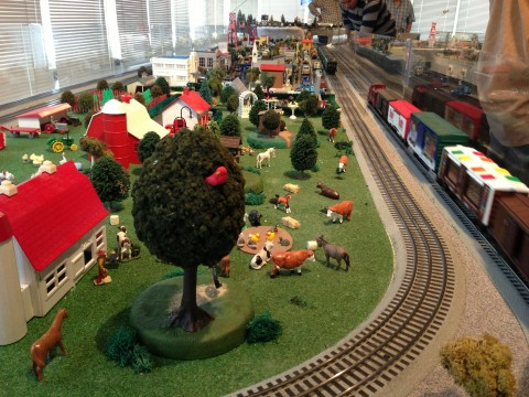 Holiday Toy Trains
