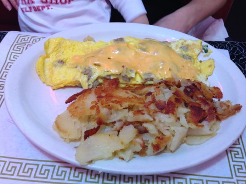 Omelet & Home Fries