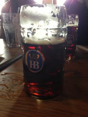 1/2 Liter Of Beer