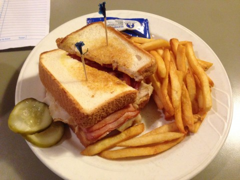 Ham and Turkey Club