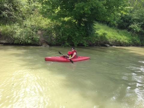 Mother Son Kayak Trip