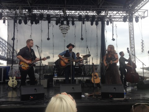 The Lone Bellow on River Stage