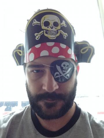 Pirate Selfie