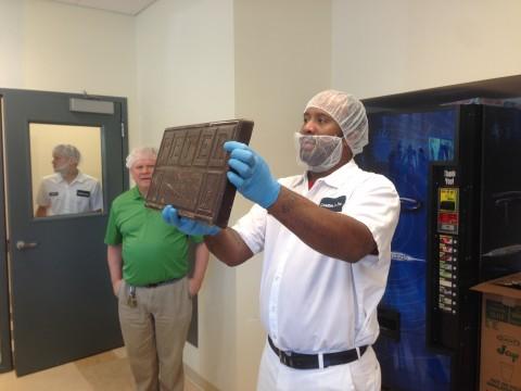 10 Pound Chocolate Block
