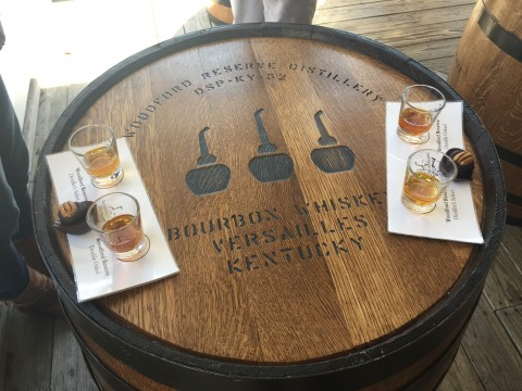 Tasting at Woodford Reserve
