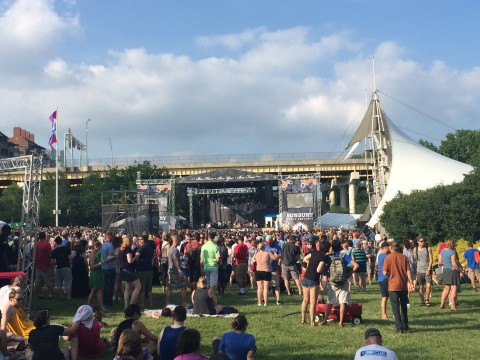 The Decemberists on Sawyer Point Stage