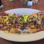 Blackened Chicken Flatbread