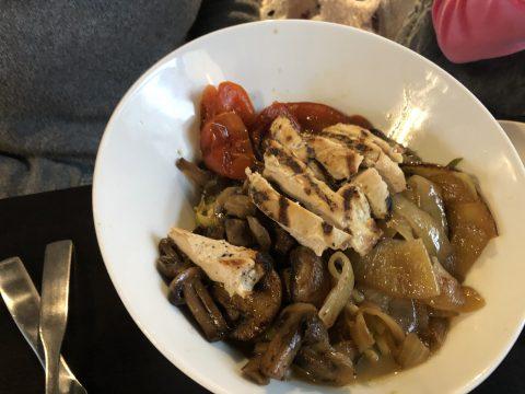 Zucchini Noodle Thai Bowl