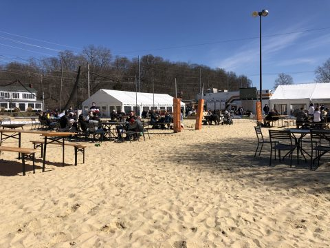 Sand Volleyball Courts Repurposed